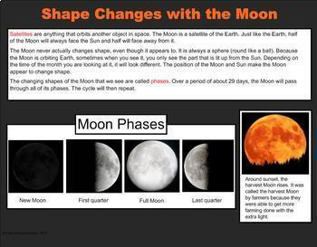 Moon Phases - A Third Grade PowerPoint Introduction