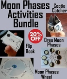 Moon Phases Activities/ Foldables Bundle (Space Science/ Astronomy: Lunar Cycle)