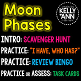 Moon Phases Games and Activities Bundle