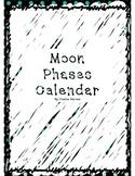 Moon Phases Calendar