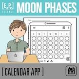 Moon Phases Calendar and To-Do List Science Template