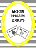 Moon Phases Cards {Sorting, Bulletin Board and Display Cards}