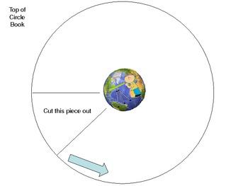 Moon Phases Circle Book