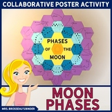 Moon Phases Collaborative Poster | Lunar Cycle, Constellations Bulletin Board
