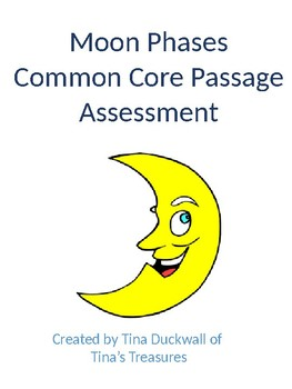 Moon Phases Common Core Passage