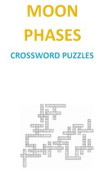 Moon Phases Crossword Puzzles