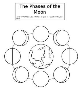 Moon Phases Cut Out