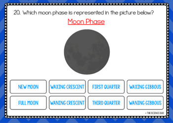 Moon Phases - Digital Boom Cards™ Sort