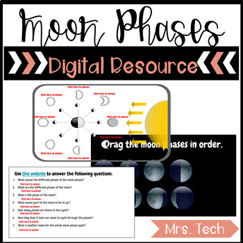Moon Phases - Digital Resource