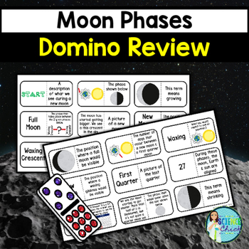 Moon Phases Domino Review