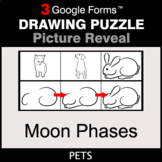 Moon Phases - Drawing Puzzle   Google Forms