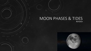 Moon Phases, Eclipses, & Tides