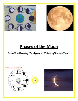 Moon Phases (FUN and UNIQUE with Varied Methods of Instruction)