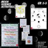 Moon Phases Activities (Mini Reader, Flip Book, & Handout)