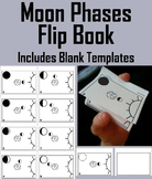 Phases of the Moon Flip Book (Space Science/ Astronomy Unit)
