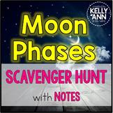 Moon Phases Scavenger Hunt
