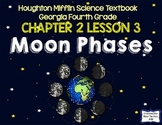 Moon Phases (Houghton Mifflin 4th Grade Science Chapter 2 Lesson 3)