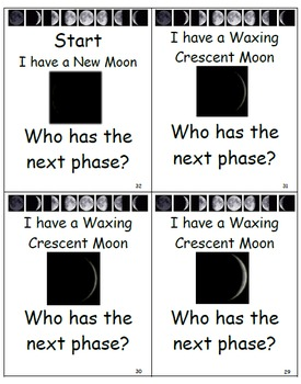 Moon Phases I Have...Who Has Expanded
