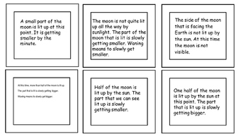 Moon Phases Interactive Notebook Activity