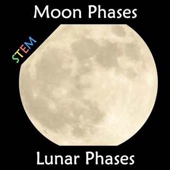Moon Phases - Lunar Phases Wall Display Anchor Chart