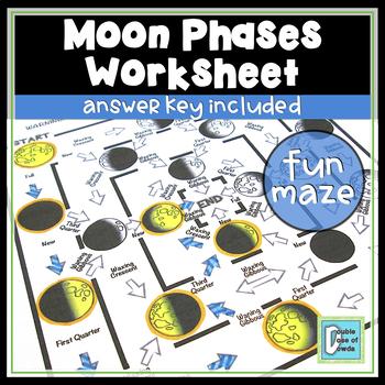 Moon Phases Maze