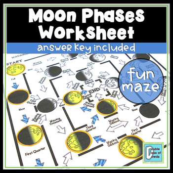Moon Phases Worksheet