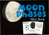 Moon Phases Mini Book
