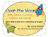 Moon Phases, Moon Characteristics, and Moon Math and Literacy Centers