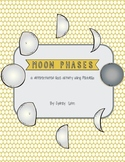 Moon Phases Differentiated PebbleGo Cloze Paragraph Activity