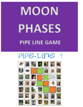 Moon Phases Pipe Line Game