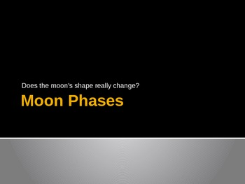 Moon Phases Powerpoint