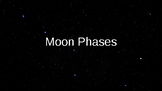 Moon Phases Powerpoint (Drawing Notes Sold Separately)