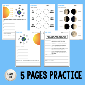 Moon Phases Practice