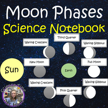 Moon Phases Science Notebook