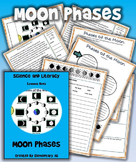 Moon Phases Science and Literacy Lesson Set (STAAR & Common Core)