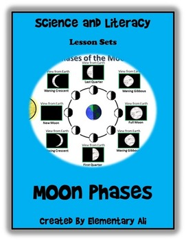 Moon Phases Science and Literacy Lesson Set (TEKS)