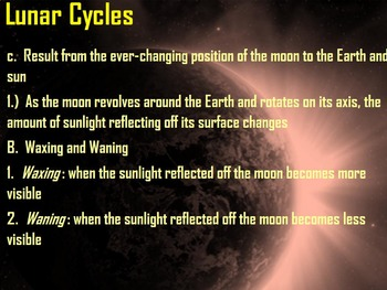 Moon Phases & Seasons Week 2
