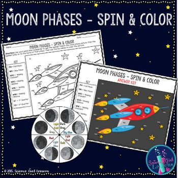 Moon Phases - Spin & Color