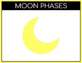 Moon Phases Task Cards