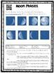 Moon Phases Webquest