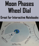 Phases of the Moon Wheel Dial Activity (Space Science/ Astronomy - Lunar Cycle)