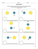 Earth Science - Moon Phases Worksheet