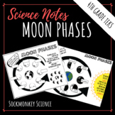 Phases of the Moon Worksheet - Doodle Sheet for 4th Grade Texas Science TEKS