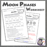 Middle School Earth Science: Moon Phases Worksheet