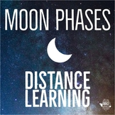 Moon Phases and Eclipse:  Distance Learning for Middle School