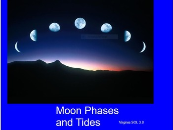 Moon Phases and Tides SMARTBOARD