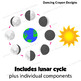 Moon: Phases of the Moon Clip Art Set