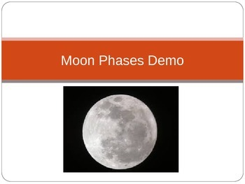 Moon Phases or Lunar Cycle