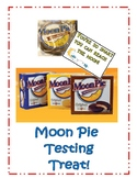 Moon Pie Testing Treat Tag