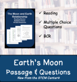 Moon Reading Passages and Questions - Distance Learning Activity